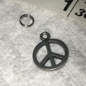 Jewelry - CHARM Peace Sign 3 for $10 NOT SILVER
